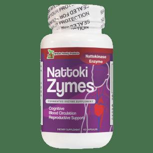 NattokiZymes Best Nattokinase Enzyme Supplement for Blood Circulation