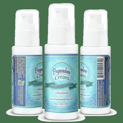 Natural Anti-Inflammatory and Pain Relieving Hormone Cream Pregnenolone Cream 4oz Pump