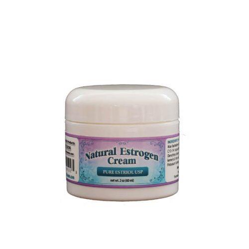 Natural Estrogen Cream 2oz Jar