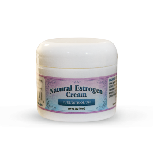 Natural Estrogen Cream 2oz Jar | Whole Family Products