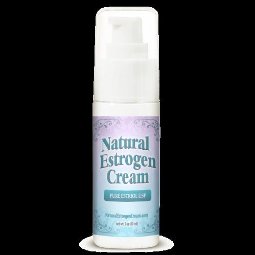 Natural Estrogen Cream 2oz Pump Helps Vaginal Dryness and Low Libido