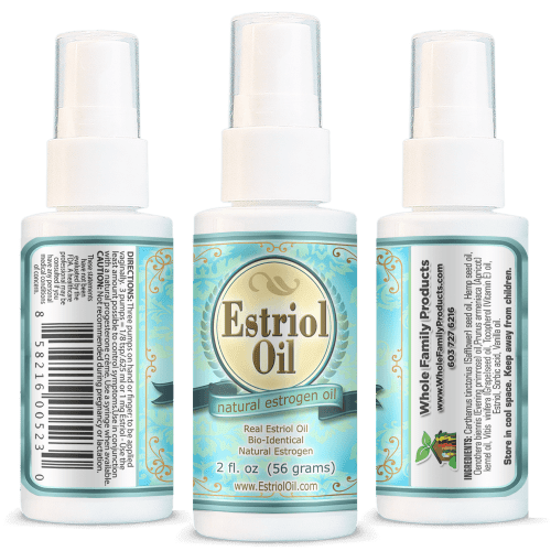 Natural Estrogen Oil for Best Menopausal Symptom Relief