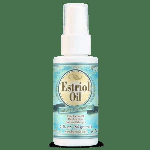 Natural Estrogen and Estriol Oil for Menopausal Symptom Relief