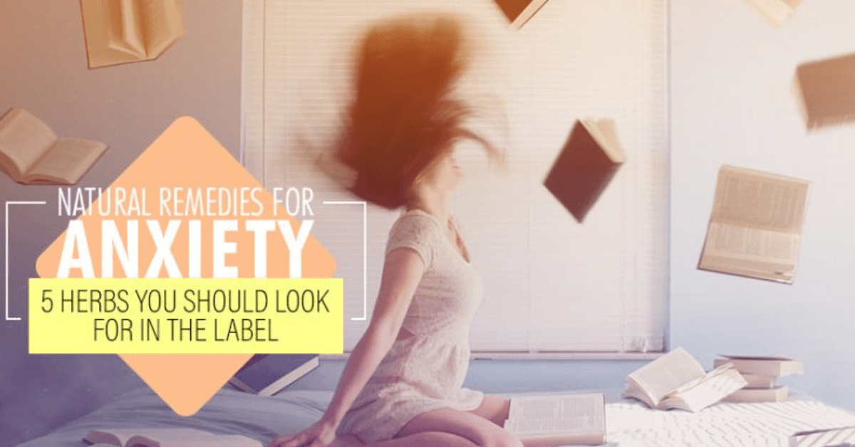 Natural Remedies For Anxiety 5 Herbs You Should Look For In The Label