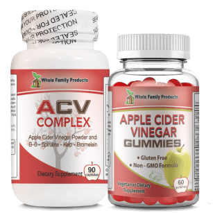Organic Apple Cider Vinegar Complex and Gummies Helps In Weight Loss