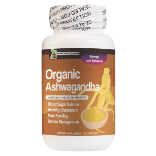 Organic Ashwagandha Natural Helps to Support Healthy Cholesterol and Male Fertility