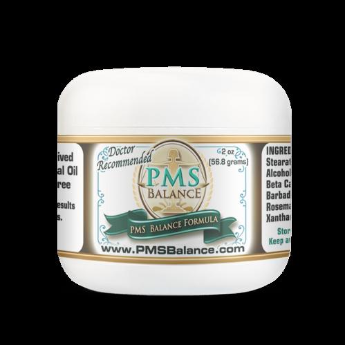 PMS Balance Cream 2oz Jar Best Progesterone Cream for PMS