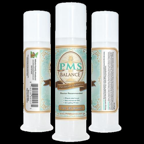 PMS Balance Cream 3oz Pump Best Natural Menopause Relief Cream
