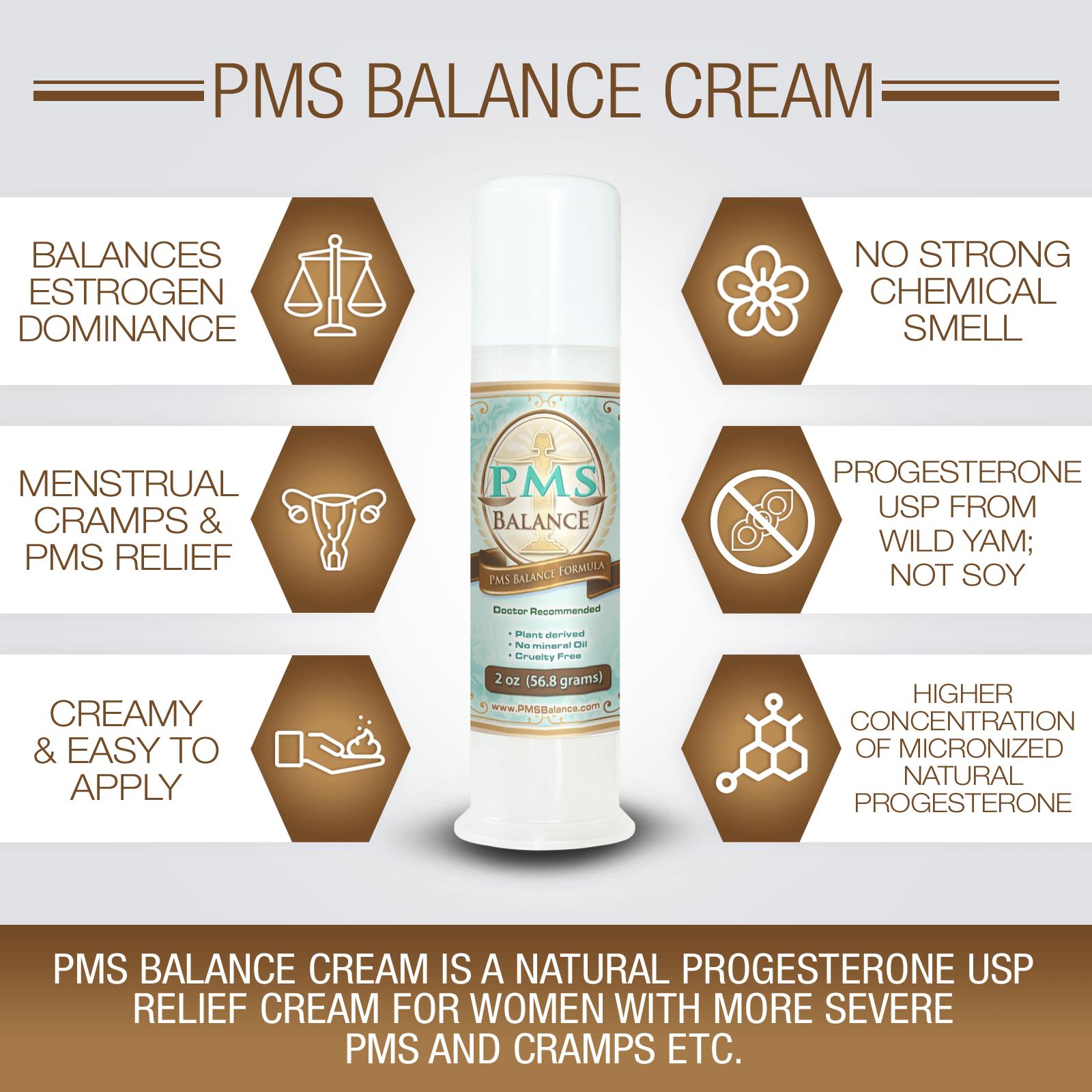 PMS Balance Natural Remedies for PMS Symptoms WFP Infographics