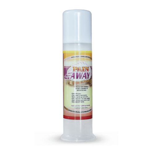 Pain Away Cream 3oz Pump Unscented | Whole Family Products