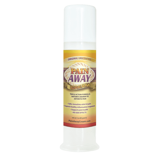 Pain Away Cream 3oz Pump Unscented Helps Restless Leg Syndrome Symptoms