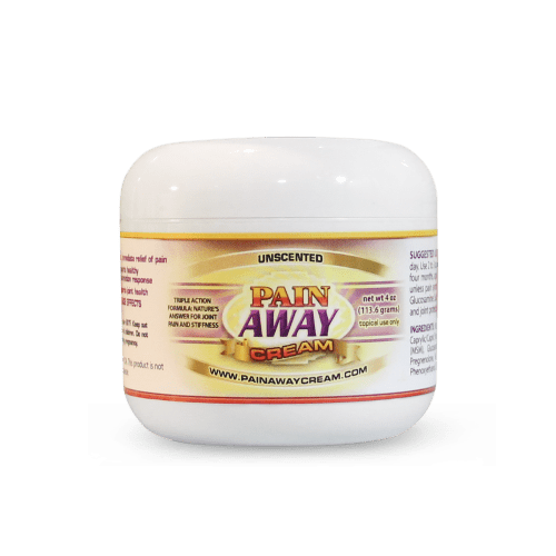 Pain Away Cream 4oz Jar Unscented | Whole Family Products