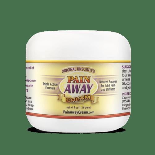 Pain Away Cream 4oz Jar Unscented Best Arthritis Pain Relief Cream