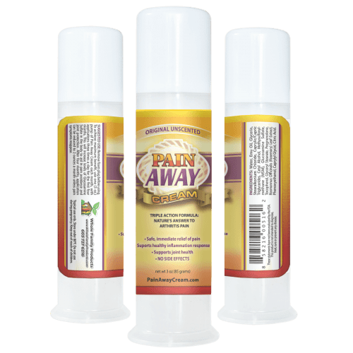 Pain Away Cream Helps Sooth Pain and Inflammation of Joints and Muscles