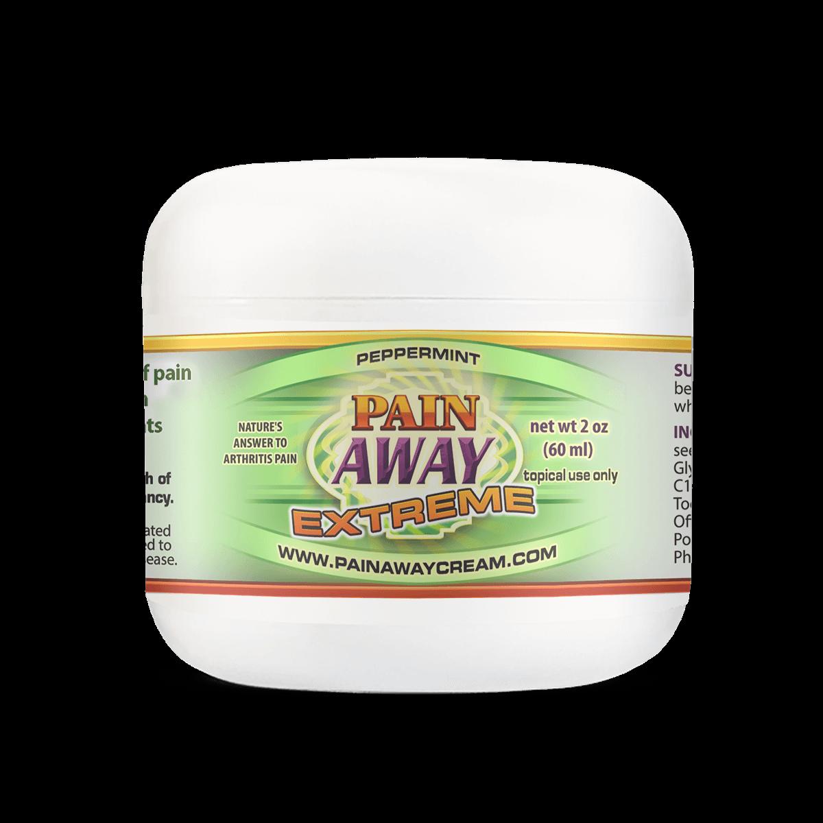 Pain Away Extreme Peppermint 2oz Jar