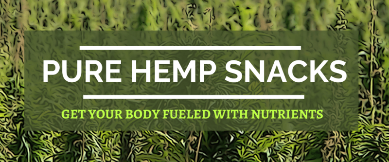 Pure Hemp Snacks Get Your Body Fueled with Nutrients