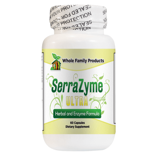 Serrazyme Ultra 60 Capsules Supplement for Inflammation