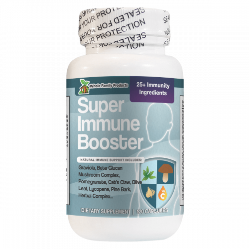 Super Immune Booster 120 Capsules Best Natural Immune System Booster Supplement