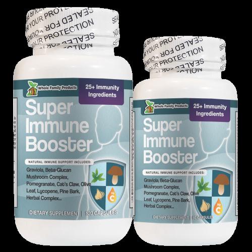 Super Immune Booster Best Natural Immune Support Supplements