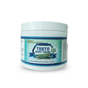 Testo Boost Cream for Men with Dhea 4oz Jar