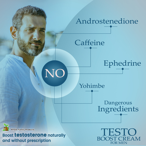 Testo Boost Cream for Men