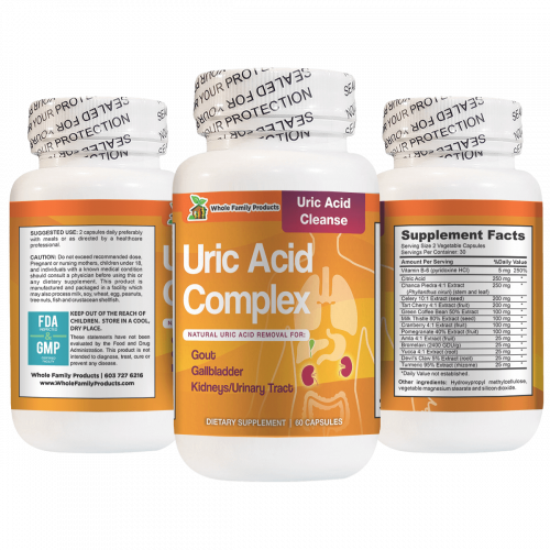 Uric Acid Complex Natural Uric Acid Removal for Kidneys and Urinary Tract