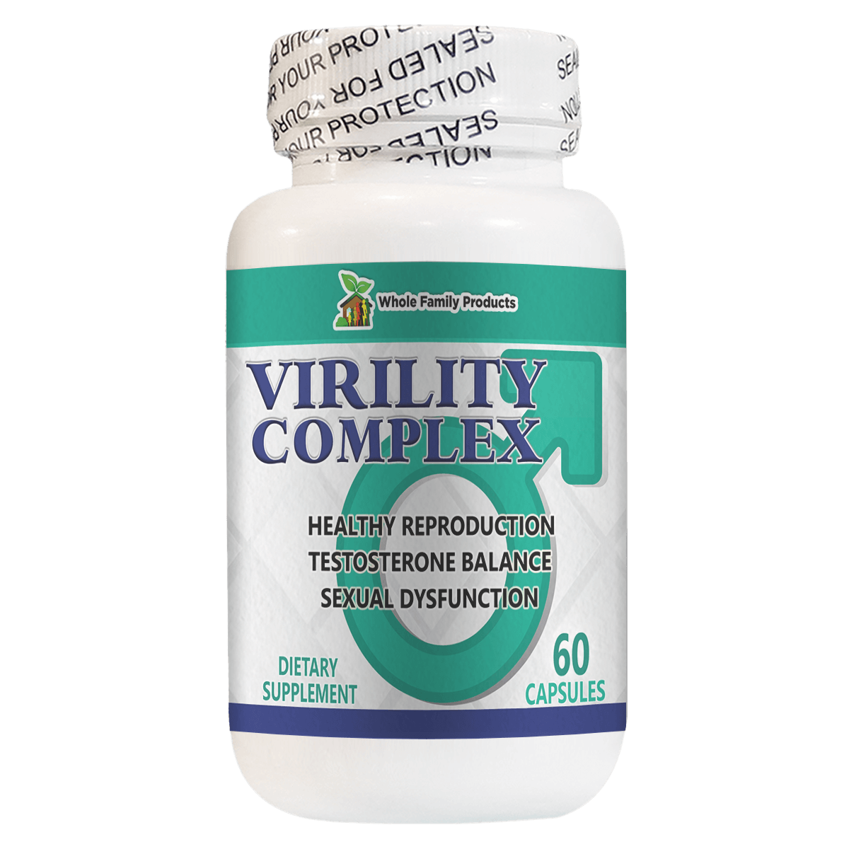 Virility Complex Natural Help for Sexual Dysfunction